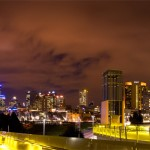 cityscape, Melbourne, Victoria, night, kate mccombie, photographer
